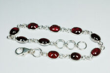 Armband mit Granat 925 Silber