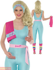 Smiffy's 42977M Barbie Costume Blue Medium UK 12-14