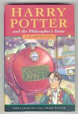 HARRY POTTER and the PHILOSOPHER'S STONE. UK 1st HB/HC JK ROWLING Bloomsbury