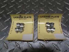 LICENSE PLATE FRAME BOLTS NUTS 8 CADILLAC BUICK OLDSMOBILE PONTIAC CHEVY USA
