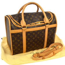 AUTHENTIC LOUIS VUITTON SAC POUR CHIEN 40 PET CARRY HAND BAG MONOGRAM BT12924