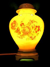 Dresden Potschappel Carl Thieme Duftlampe Rauchverzehrer Blumen handgemalt