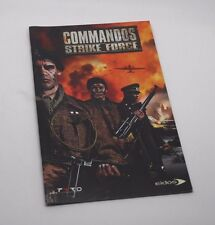 Commandos Strike Force Manual instructions ps2 playstation 2