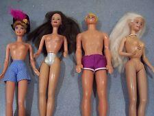 #B lot of barbie ken dolls twist and turn bendable legs musical princess 1968/98