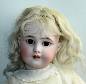 ANTIQUE Bisque Doll JUMEAU DEP 10 French PRETTY FACE!