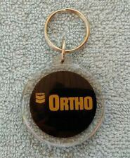 Original 1980's ORTHO DIBROM 14 Chevron KEY-CHAIN Never Used