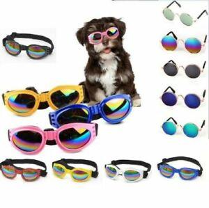 Small Pet Cat Dog Sunglasses Portable Rock Glasses UV Protection Glasses New