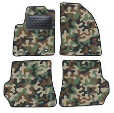 Armee-Tarnungs Autoteppich Autofußmatten Auto-Matten für Ford Fiesta 2003-2008