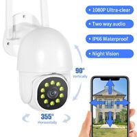 KQ_ Smart Waterproof Outdoor 360 Degree Panorama Wireless Camera Household Monit