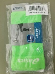 New Asics Compression Rally Chill Leg Sleeves.