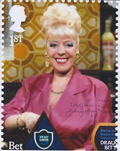 Julie Goodyear Hand Signed 8x10 Photo, Autograph, Coronation Street Bet Lynch