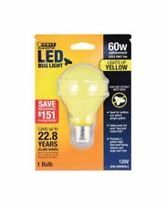 FEIT Electric 5 watts A19 LED Bulb 400 lumens Yellow A-Line 60 Watt Equivalence