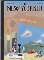 OCT 20 2003 -  THE NEW YORKER magazine - HOLLYWOOD