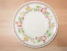 "Masons Ironstone Vintage English 9"" Bowls(3) Pattern 4689 Ivory/Green/Brown"
