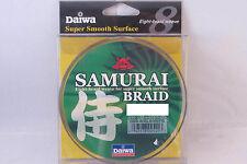 NEW DAIWA SAMURAI BRAID GREEN 20LB 300YD DSB-B20LB300YG