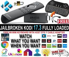 latest  AMAZON FIRE STICK W/ALEXA K 0 D I 17.3 TV SHOWS MOVIE SPORTS AND MORE