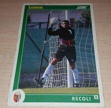 CARD SCORE 1993 ASCOLI LORIERI CALCIO FOOTBALL SOCCER ALBUM