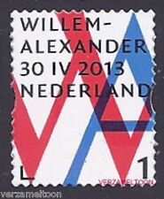 NVPH 3057 INHULDIGINGSPOSTZEGEL: WILLEM-ALLEXANDER 1 gestanst 2013 postfris