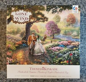 "Ceaco Thomas Kinkade 1000 piece puzzle ""Gone with the Wind"""