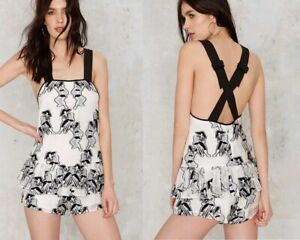 ALICE MCCALL one love romper playsuit size 8 worn once RRP $359.00