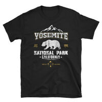 Cool Vintage Style National Park Yosemite California Short-Sleeve Unisex T-Shirt