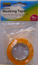 Modelcraft - 1 Roll 18mm Wide x 18m Long Modellers Masking Tape -1st Class Post