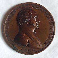 1837 President Martin Van Buren Indian Peace Medal IP- 18 / Coin - Token