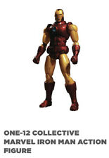 Mezco Toys Invincible IRON MAN One:12 Collective Action Figure Marvel New