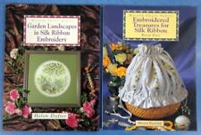 Silk Ribbon Embroidery Books x 2 by Helen Dafter