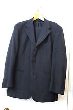Blazer Wool Charcoal Grey Two Piece Gents Suit Good Condition