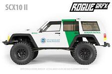 Axial SCX10 II Cherokee Body Graphic Wrap Skin - Border Patrol
