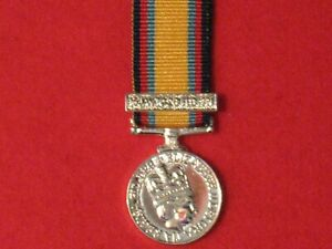 Miniature Gulf War 1990 1991 Medal with clasp BRAND NEW