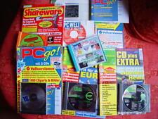 7 CD software Grafik Video Post Katze Texte Spiele Windows presse Bibliothek