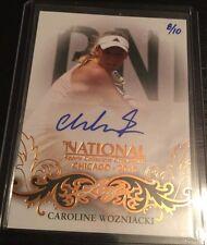 2015 Chicago National NSCC LEAF Caroline Wozniacki Autograph 8/10