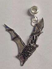 Long-Eared Bat with 5mm Hole to fit Pendant Charm Bracelet European refC19