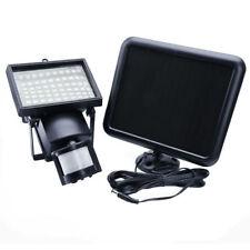 Outdoor Solar Power Motion Sensor Garden Floodlight 60 LED PIR Security Light