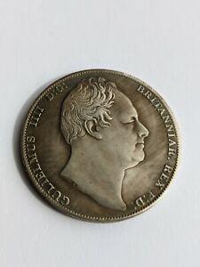 1836 UK Crown William IV Coin w/COA Coin England