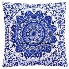 Indian Mandala Pillows Cases Square Floor Bohemian Home Sofa Car Cushion Cover