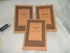 Benn's Sixpenny Library - 3 books 'The English Stage','..House' & '..Furniture'