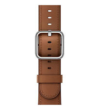 Apple 42mm Saddle Brown Classic Buckle Band - Barely used! Original packaging!