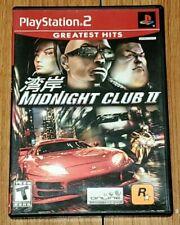 Midnight Club II 2 Greatest Hits (Sony PlayStation 2, 2003) PS2 Rockstar