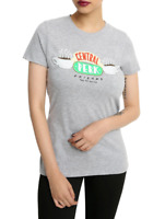 Friends TV Show CENTRAL PERK LOGO Girls Women's T-Shirt NEW Official & Licensed