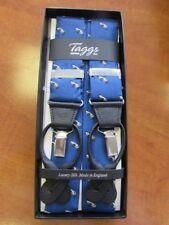 Coche De Carreras Azul Real Con Plata Coche De Lujo 2 en 1 Llaves De Seda Hecho En Inglaterra