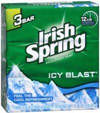 Irish Spring Bath Bar, Icy Blast 3.75 oz, 3 Bars