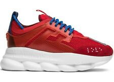 e4bc545091 Versace Chain Reaction Sneakers Size 37,5 ~ USA 5 MEN RED/BLUE