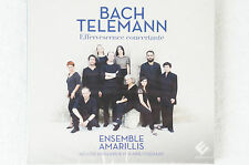 Bach Telemann Effervescence concertante Asemble Amarillis Héloise Gaillard(Box3)