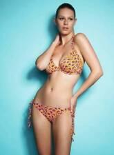 Freya Boogie Firefly Triangle Bikini Top 32D 3392 + Tie Side Bikini Brief S 3395