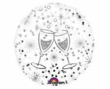 Champagne Flute Clear Foil Balloon