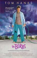 THE BURBS Movie MINI Promo POSTER Tom Hanks Carrie Fisher Ric(k) Ducommun