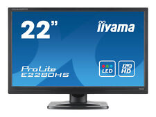 "iiyama  ProLite E2280HS-B1 22""  Widescreen LED Monitor, built-in Speakers"